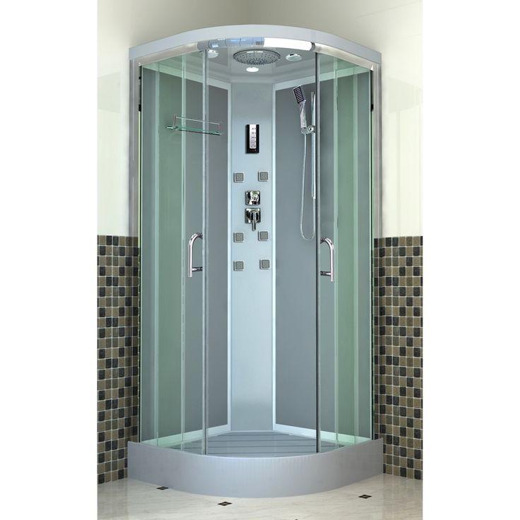 299 euros cabine de douche daniela 90x90 cm radio verre. Black Bedroom Furniture Sets. Home Design Ideas
