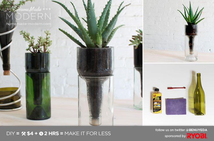 L'atelier du mercredi : avec des bouteilles en verre - Page 3 de 3 - Plumetis Magazine