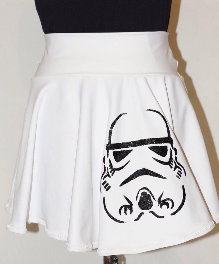 Storm Trooper Star Wars Running Skirt by RunPrincessRun on Etsy https://www.etsy.com/listing/214005309/storm-trooper-star-wars-running-skirt
