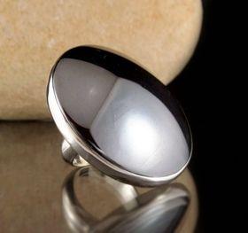 Hematite Ring size 8.5 | natural stone jewellery | threemadfish.com | Australia