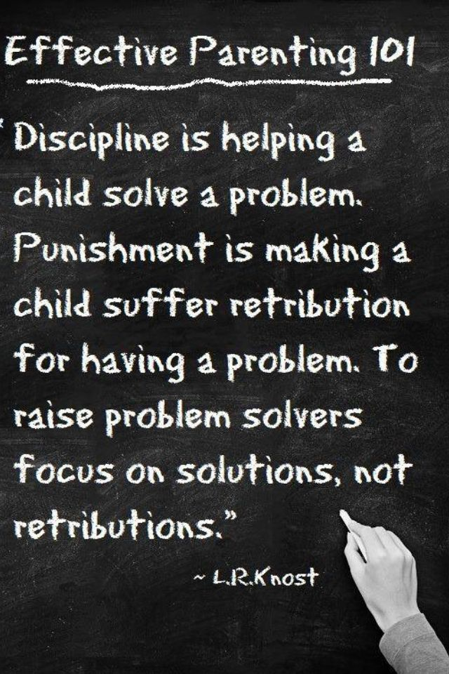 Discipline solutions! Creating problem solvers! #nannieswithlove