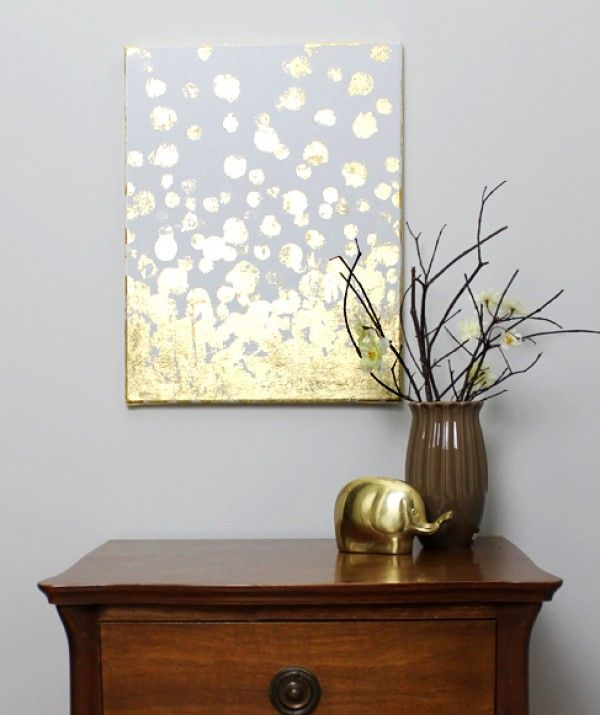 18 Gold-leafed DIY Projects That Sparkle With Elegance