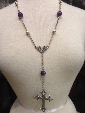 Amethyst Rosary. https://www.galleryserpentine.com/collections/jewellery