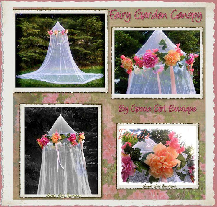 Fairy garden canopy - Goosie Girl
