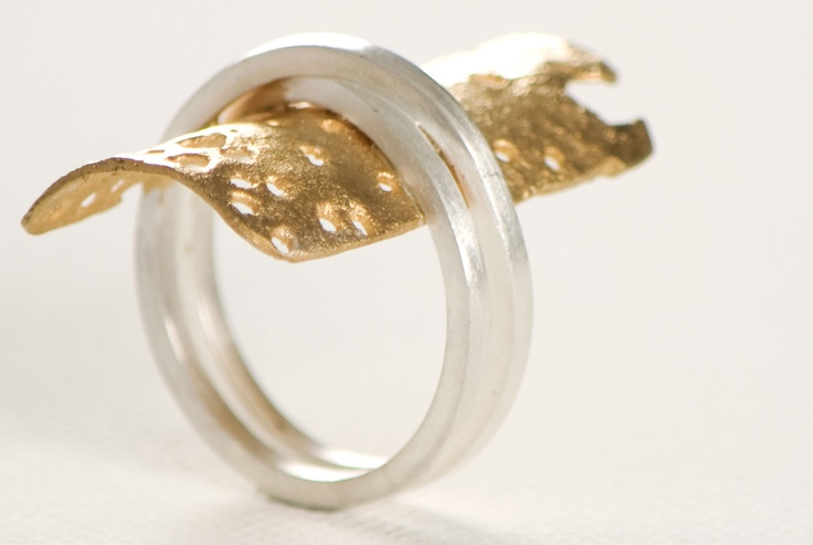 Experiment, followed up by a series of rings that share texture, color and odd ways to get all the attention.