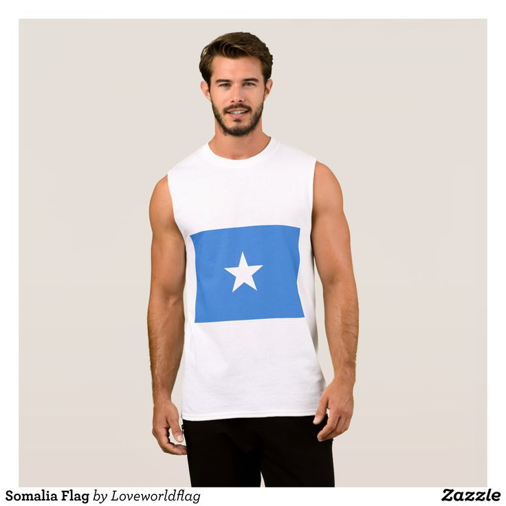Somalia Flag Sleeveless Shirt - Comfy Moisture-Wicking Sport Tank Tops By Talented Fashion & Graphic Designers - #tanktops #gym #exercise #workout #mensfashion #apparel #shopping #bargain #sale #outfit #stylish #cool #graphicdesign #trendy #fashion #design #fashiondesign #designer #fashiondesigner #style