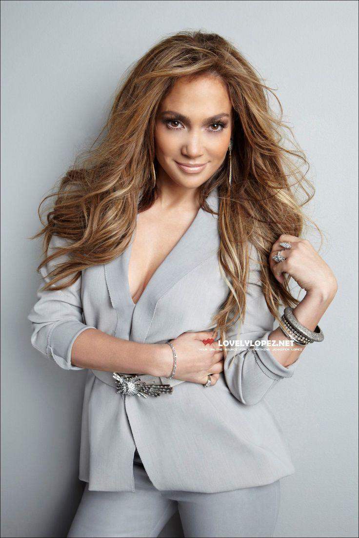 Hair color ideas Jennifer Lopez , Caramel color