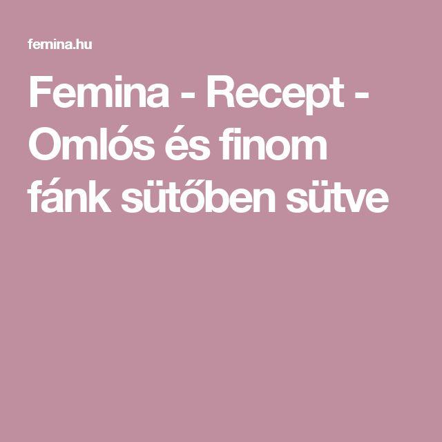 Femina - Recept - Omlós és finom fánk sütőben sütve