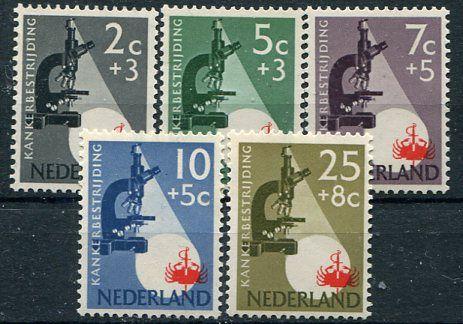 Francobolli - Lotta contro il cancro - Fight against cancer - Stamps Olanda 1955