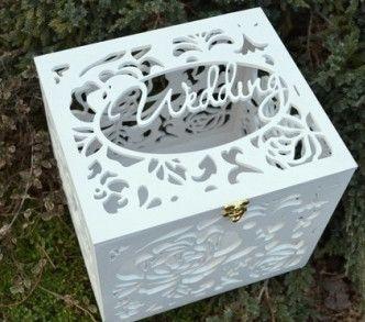 Свадебная шкатулка для денег и поздравлений!