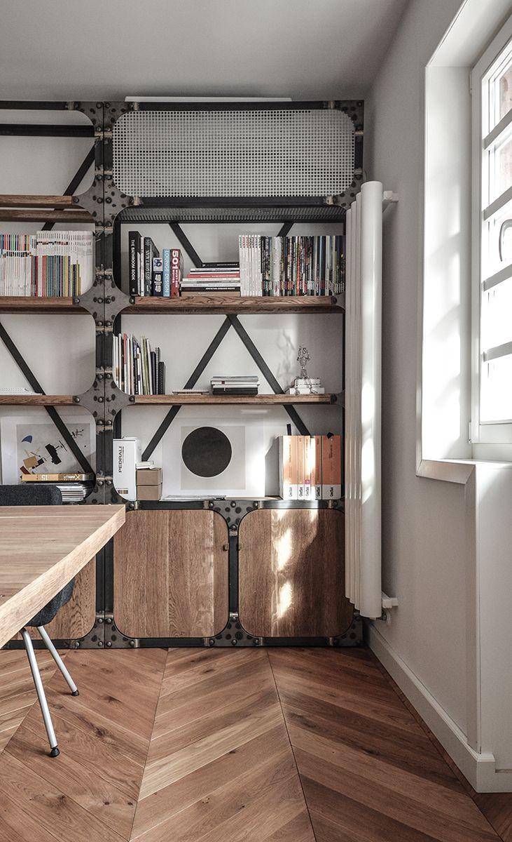 Yellow Office architecture/ studio design 2016 #architecture #interior-design #Bucharest #studio #industrial #Restoration #wood #metal #working place #architectural office design