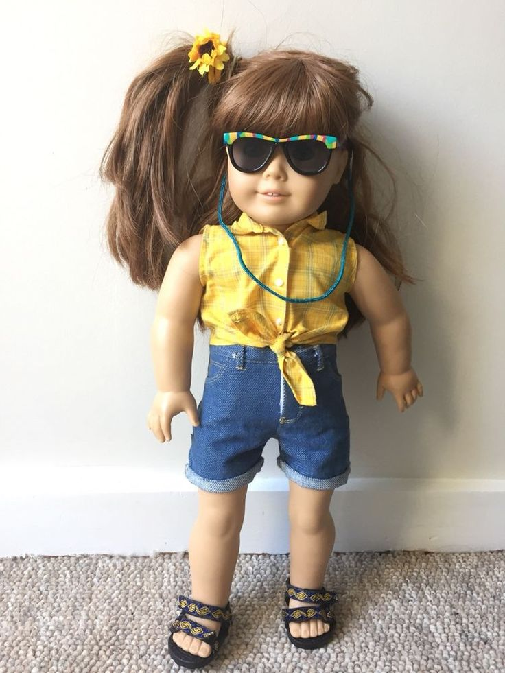 American Girl Doll 1998 Picnic Outfit  #AmericanGirl