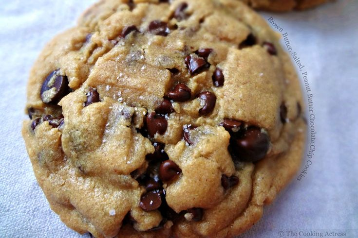 Brown Butter, Salted, Peanut Butter Chocolate Chip Cookies - I need to find this recipe, help! I found this on FoodPornDaily