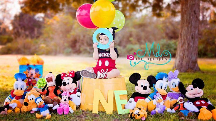 Oh my! 1st birthday, Disney inspired •  Www.facebook.com/mdphotography