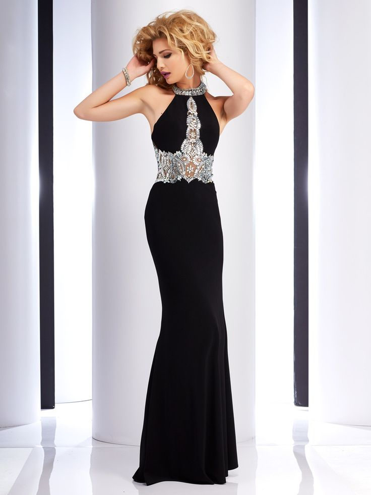 Clarisse 2755 Black at Rsvp Prom and Pageant, your source for the Hottest 2016 Prom and Pageant Dresses!