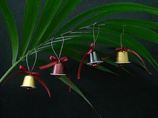 une autre idée avec les capsules de café... plutôt sympa d'ailleurs!