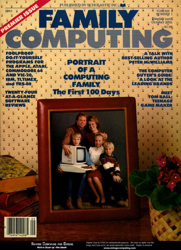 Anyone remember this magazine? It had awesome tips to create programs on LOGO.
