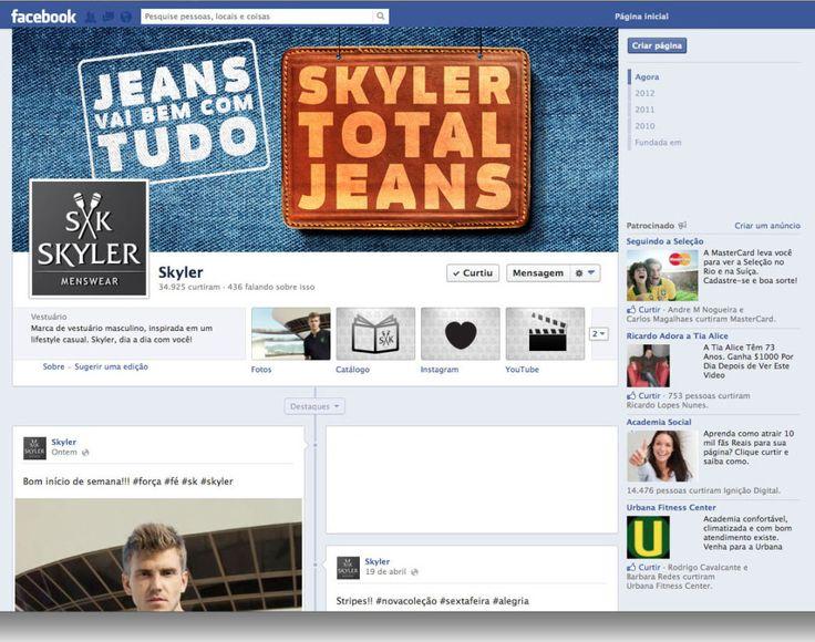 A Skyler Total Jeans foi uma campanha que levou sucesso aos franqueados e consumidores em todo o Brasil, com super descontos em jeans dos mais diversos estilos e designs.
