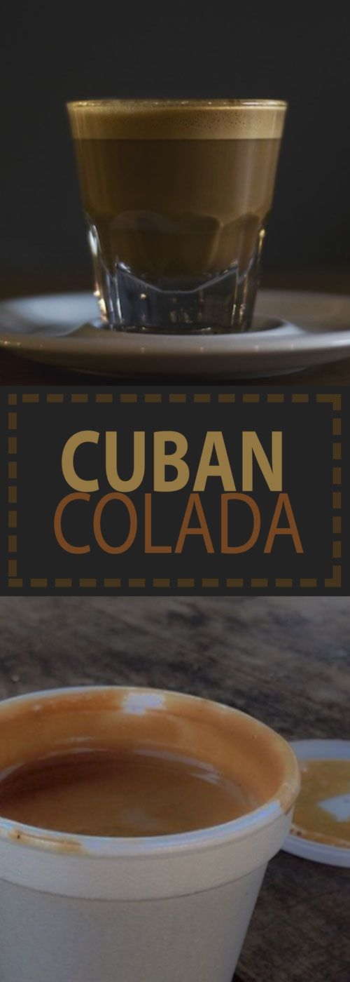 Calling all espresso fanatics! Colada aka Cuban Espresso is incredibly popular in South Florida. Have a look at our recipe to learn how you can make this Cuban staple at home.