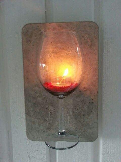Glas in Beton