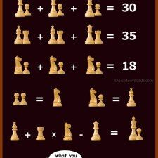 The Chess Puzzle - Viral Math Puzzles, Genius Brainteasers and Logical Math Puzzles