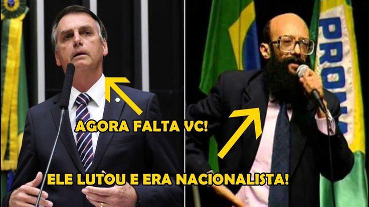Enéas Carneiro, o homem que lutou contra os Globalistas, mas e Bolsonaro ?