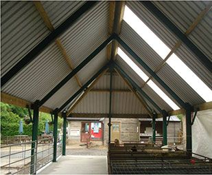 By Using A Steeper Roof Pitch And Hipped Ends To The Roof