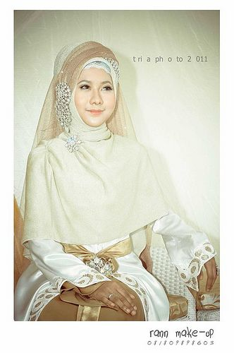 simple syari for wedding