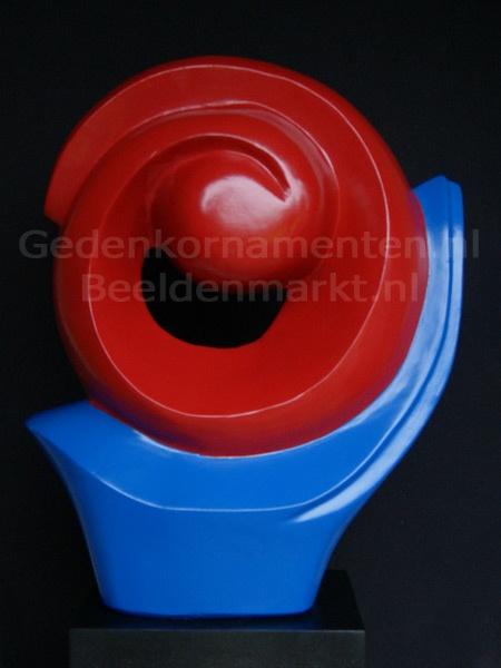 Roodblauw Exclusief Beeld, Winterhard en Kleurvast.
