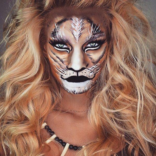 Natural Halloween Decorations: Best 20+ Tiger Makeup Ideas On Pinterest