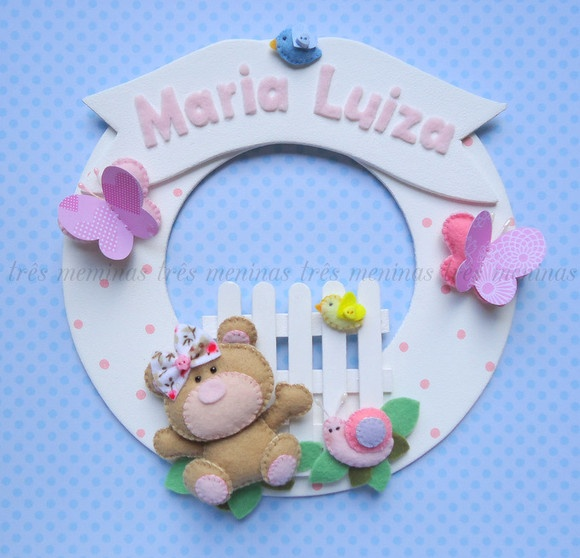 Porta Maternidade: Port De, Maternidad Para, Felt Felt, Ems Feltro, Door, Maternity Porta, Fabulous Felt, Maternity, Para Beatriz