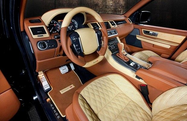 Range Rover Sport - The 50 Most Outrageous Custom Car Interiors | Complex UK