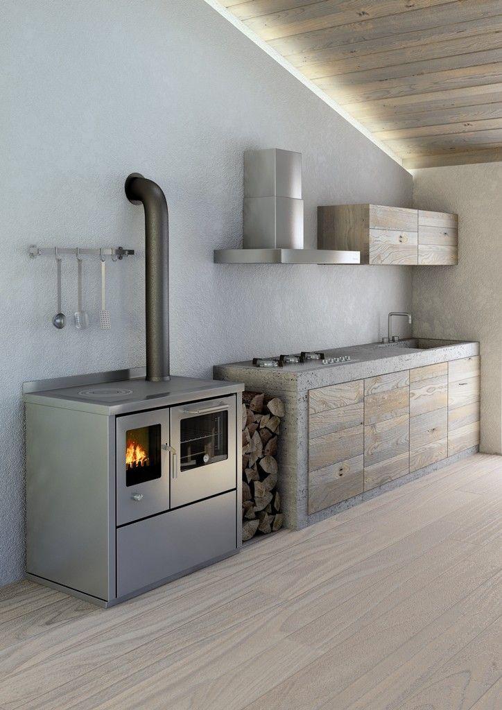 La linea di cucine economiche a legna ECO della De Manincor ...