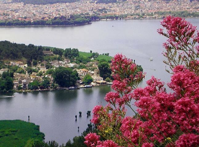 The City and the Lake of Ioannina in Epirus ...Greece !!