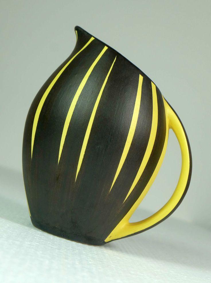 VASE 50er jahre ilkra keramik dekor kairo ernst werner modell-nr. 154-13 | eBay