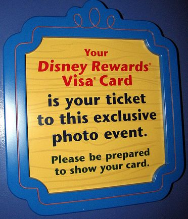 The EPCOT DISNEY VISA MEET AND GREET