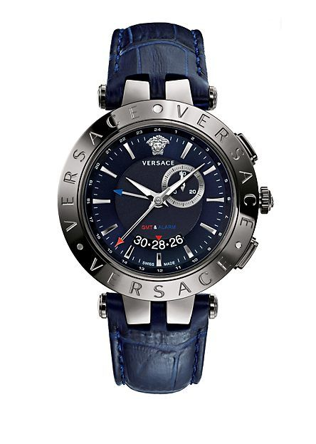 V-Race GMT Alarm Blue