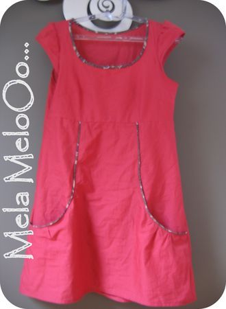 This is a women's top, but I would love it as a dress for a little girl!