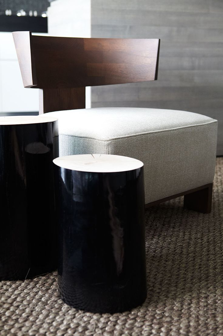 Hare + Klein Interior Design Blog: Favourite Things - Side Tables: Log by Gervasoni, available from Anibou