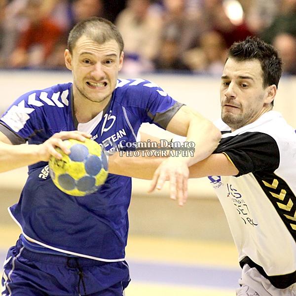Poli Timisoara - CS Caras Severin - Mihai Rohozneanu, Cristian Fenici