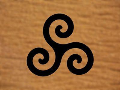 Símbolo druida Trisquel