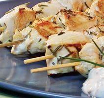 Brochettes de poulet dijonnaises **Nouveau**