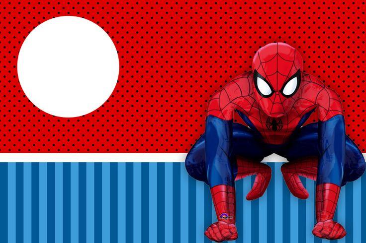 Montando a minha festa: Homem aranha