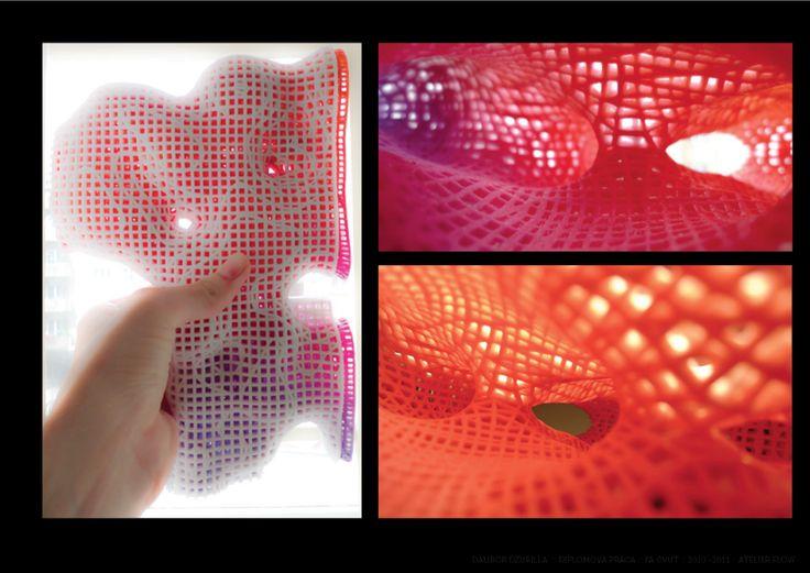 "3D model section cut interiors Project ""Prototypal Thermae"" Dalibor Dzurilla"