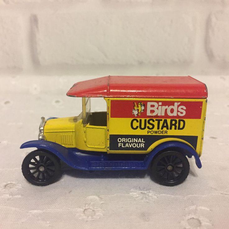 Matchbox 1921 Model T Ford Birds Custard Powder Truck  #Matchbox