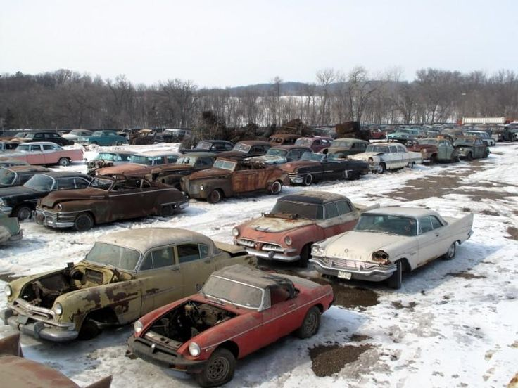Car Parts Mn: Images Of French Scrap Yards