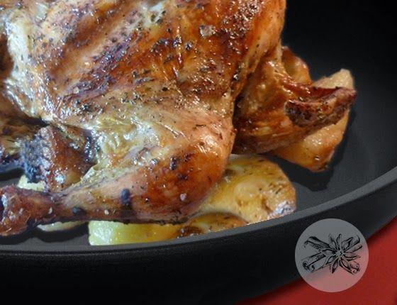 Food Memoir: Κοτόπουλο γεμιστό με αρωματικά βότανα