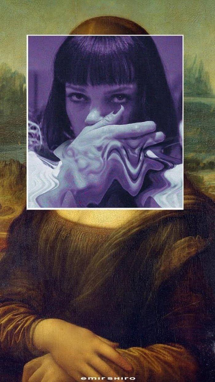 "916 wallpaper French artist Emir Shiro ""Mona Wallace"