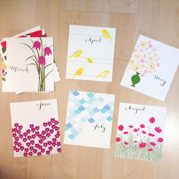 Diy Table Calendar : Best calendars recycled images on pinterest packaging