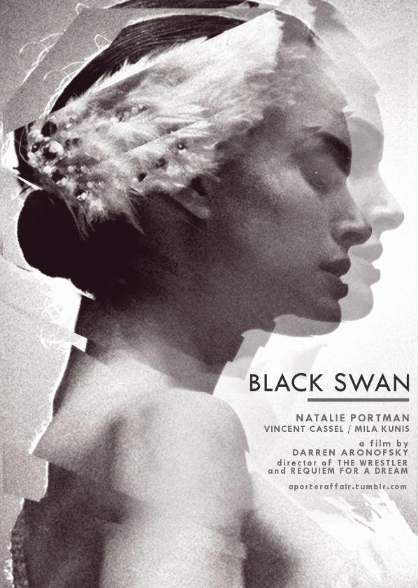 Black Swan (2010)  Director: Darren Aronofsky  Natalie Portman,Mila Kunis,Vincent Cassel, Winona Ryder, Barbara Hershey